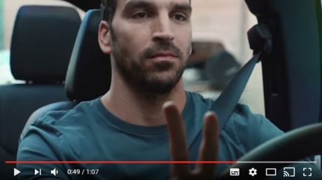 The peace sign. So much hippy symbolism in an ad for a pollutant.